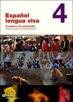 SANTILLANA EDUCACIÓN, S.L. ESPANOL LENGUA VIVA 4 ACTIVIDADES + CD-ROM - CENTELLAS, A. cena od 0 Kč