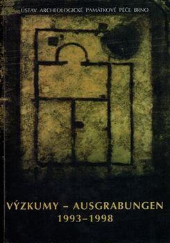 Ústav archeologické památkové Výzkumy - Ausgrabungen 1993-1998 - kol. cena od 220 Kč