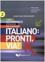 RUX DISTRIBUZIONE ITALIANO: PRONTI, VIA! 2 guida - BALBONI, P. E., MEZZANDRI, ... cena od 405 Kč