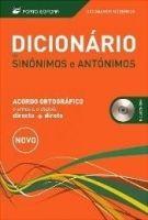 Porto Editora Lda. DICIONARIO DE SINONIMOS E ANTONIMOS - PORTO EDITORA STAFF cena od 590 Kč
