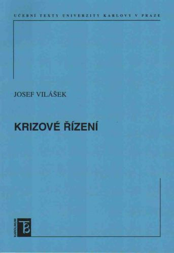 Karolinum Krizové řízení - Vilášek Josef cena od 82 Kč