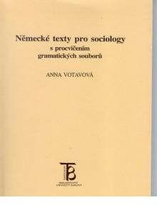 Karolinum Německé texty pro sociology s procvičením gramatických soubo... cena od 146 Kč