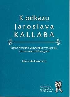 Aleš Čeněk K odkazu Jaroslava Kallaba - Machalová Tatiana (ed.) cena od 17 Kč
