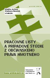 Aleš Čeněk Pracovné listy a prípadové štúdie z občian. práva hmotného -... cena od 175 Kč