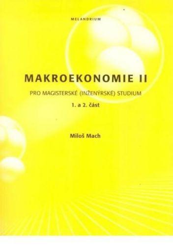 Melandrium Makroekonomie II pro magisterské (inženýrské)studium1+2 část... cena od 299 Kč