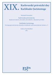 Nakladatelství Leges XIX. Karlovarské právnické dny cena od 378 Kč