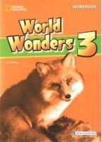 Heinle ELT WORLD WONDERS 3 WORKBOOK WITHOUT KEY - COVENEY, A. cena od 340 Kč