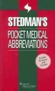 NBN International Ltd Stedman´s Pocket Medical Abbreviations - Stedman's cena od 623 Kč