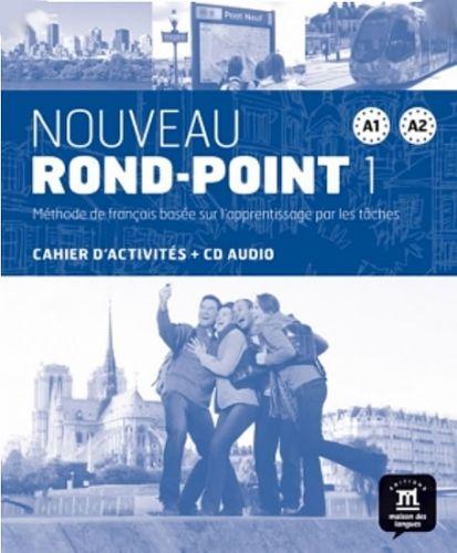 Nouveau Rond-Point A1-A2 – Cahier dexer. + CD cena od 305 Kč