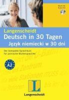 Langenscheidt DEUTSCH IN 30 TAGEN SET AUS BUCH UND AUDIO-CD cena od 286 Kč