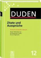 Bibliographisches Institut DUDEN BAND 12 ZITATE UND AUSSPRÜCHE cena od 684 Kč