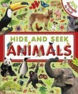 Dorling Kindersley HIDE AND SEEK ANIMALS - DK cena od 179 Kč