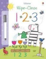 Usborne Publishing USBORNE WIPE-CLEAN 1 2 3 - EVER, C., LAMB, S cena od 148 Kč