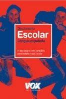Comercial Grupo ANAYA DICCIONARIO ESCOLAR /Vox/ cena od 0 Kč