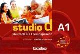 Cornelsen Verlagskontor GmbH STUDIO D A1 VOKABELTASCHENBUCH DEUTSCH-ENGLISCH cena od 150 Kč