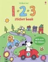Usborne Publishing 123 Sticker Book - TAPLIN, S., LAMB, S. cena od 133 Kč
