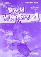 Heinle ELT WORLD WONDERS 4 TEACHER´S BOOK - GORMLEY, K. cena od 304 Kč