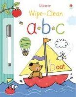 Usborne Publishing USBORNE WIPE-CLEAN ALPHABET - FEARN, K., LAMB, S. cena od 148 Kč