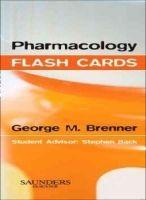 Elsevier Ltd Pharmacology Flash Cards - Brenner, G.M. cena od 940 Kč