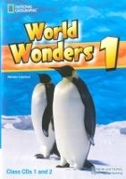 Heinle ELT WORLD WONDERS 1 CLASS AUDIO CDs /2/ - CRAWFORD, M. cena od 674 Kč