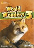 Heinle ELT WORLD WONDERS 3 CLASS AUDIO CD cena od 850 Kč