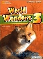 Heinle ELT WORLD WONDERS 3 STUDENT´S BOOK + AUDIO CD PACK - CRAWFORD, M... cena od 559 Kč
