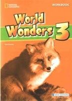 Heinle ELT WORLD WONDERS 3 WORKBOOK WITH KEY - CRAWFORD, M., CLEMENTS, ... cena od 280 Kč