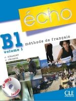 CLE international ECHO B1/1 Livre d´eleve + CD - Jacky Girardet, Jacques Péche... cena od 422 Kč