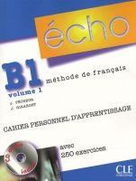 CLE international ECHO B1/1 Cahier personnel + CD cena od 270 Kč
