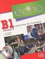 CLE international ECHO B1/2 Livre d´eleve + CD - Jacky Girardet, Jacques Péche... cena od 486 Kč