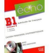 CLE international ECHO B1/2 Cahier personnel + CD - Jacky Girardet, Jacques Pé... cena od 283 Kč