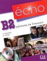 CLE international ECHO B2 Livre d´eleve + CD - Jacky Girardet, Jacques Pécheur cena od 451 Kč