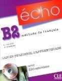 CLE international ECHO B2 Cahier personnel + CD - Stéphanie Callet, Jacky Gira... cena od 283 Kč