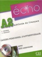 CLE international ECHO A2 Cahier personnel + CD cena od 260 Kč