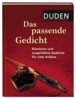 Bibliographisches Institut DUDEN DAS PASSENDE GEDICHT cena od 124 Kč