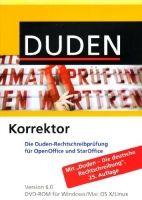 Bibliographisches Institut DUDEN KORREKTOR FÜR OPEN OFFICE/STAR OFFICE 6.0 cena od 538 Kč