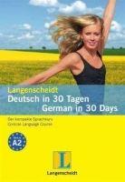 Langenscheidt DEUTSCH IN 30 TAGEN/GERMAN IN 30 DAYS A2 cena od 194 Kč