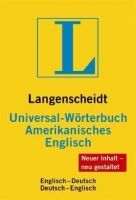 Langenscheidt UNIVERSAL-WÖRTERBÜCHER AMERIKANISCHES ENGLISCH cena od 280 Kč