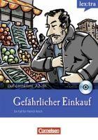 Cornelsen Verlagskontor GmbH LERNKRIMIS: GEFÄHRLICHER EINKAUF + CD cena od 167 Kč