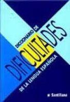 SANTILLANA EDUCACIÓN, S.L. DICCIONARIO DE DIFICULTADES - GONZALES, C., REOYO, C. cena od 0 Kč