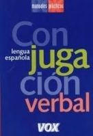Comercial Grupo ANAYA VOX CONJUGACION VERBAL cena od 0 Kč