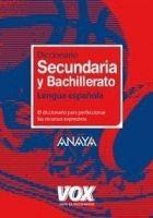 Comercial Grupo ANAYA DICC SECUNDARIA Y BACHILLERATO /Vox/ - VOX cena od 0 Kč