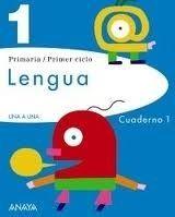 Comercial Grupo ANAYA UNA A UNA: LENGUA 1: CUADERNO 1 - BLASCO, M., PEREZ MADORRAN... cena od 168 Kč