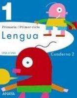 Comercial Grupo ANAYA UNA A UNA: LENGUA 1: CUADERNO 2 - BLASCO, M., PEREZ MADORRAN... cena od 0 Kč