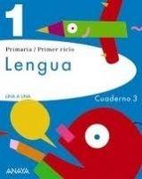 Comercial Grupo ANAYA UNA A UNA: LENGUA 1: CUADERNO 3 - BLASCO, M., PEREZ, MADORRA... cena od 168 Kč