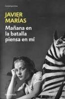 RANDOM HOUSE MONDADORI MANANA EN LA BATALLA PIENSA EN MI - MARIAS, J. cena od 0 Kč