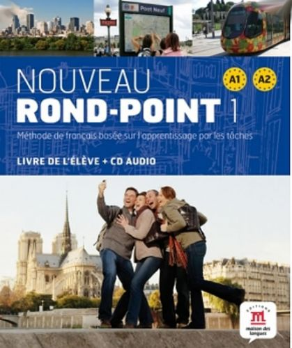 Nouveau Rond-Point A1-A2 – Livre de léleve + CD cena od 546 Kč