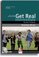 Helbling Languages GET REAL INTERMEDIATE STUDENT´S BOOK + CD-ROM - HOBBS, M., K... cena od 323 Kč