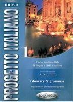 Edilingua NUOVO PROGETTO ITALIANO 1 Glossary & Grammar - MARIN, T., MA... cena od 128 Kč