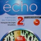 CLE international ECHO 2 CD Individuel - GIRARDET, J. cena od 300 Kč